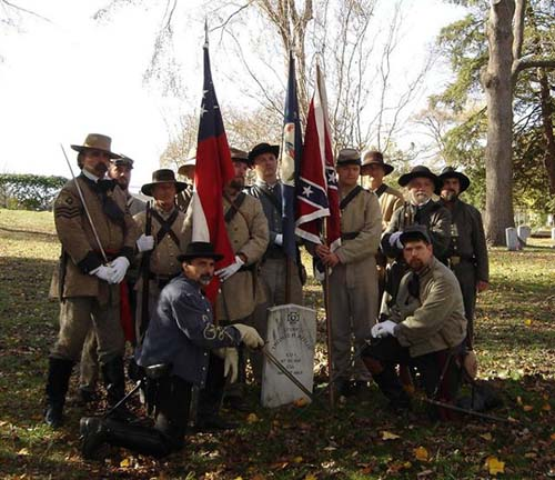 47th Members at Hollywood Cemetery dedication